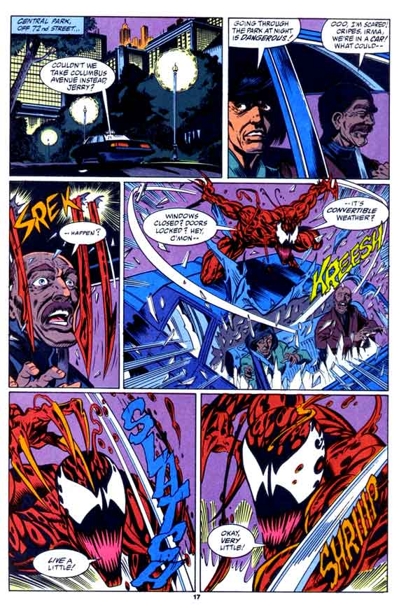 Comics Marvel, Maximum Carnage 3 page 17