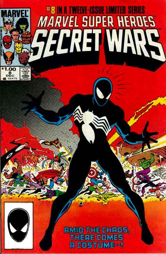 Secret Wars #8, couverture