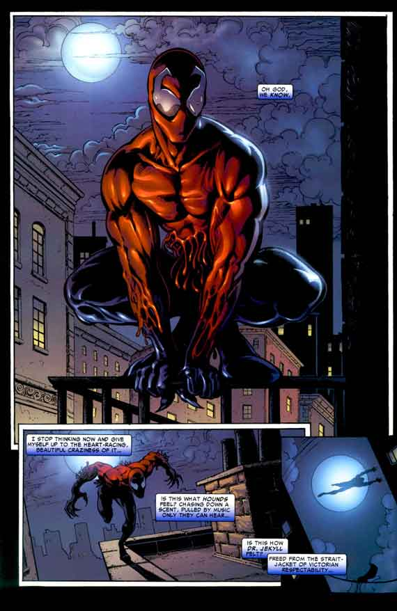 Comics Marvel, Toxin #1, page 12