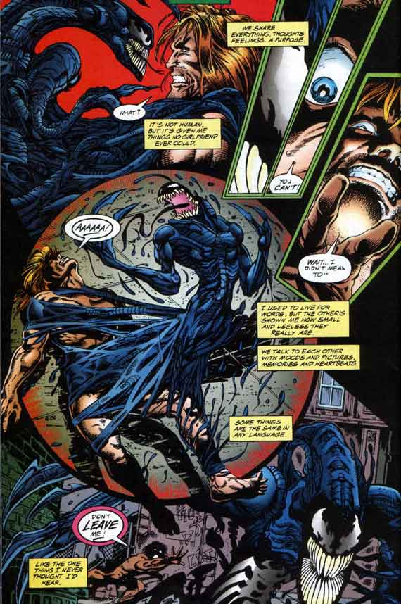 Comics Marvel, Venom The Hunger #1, page 22