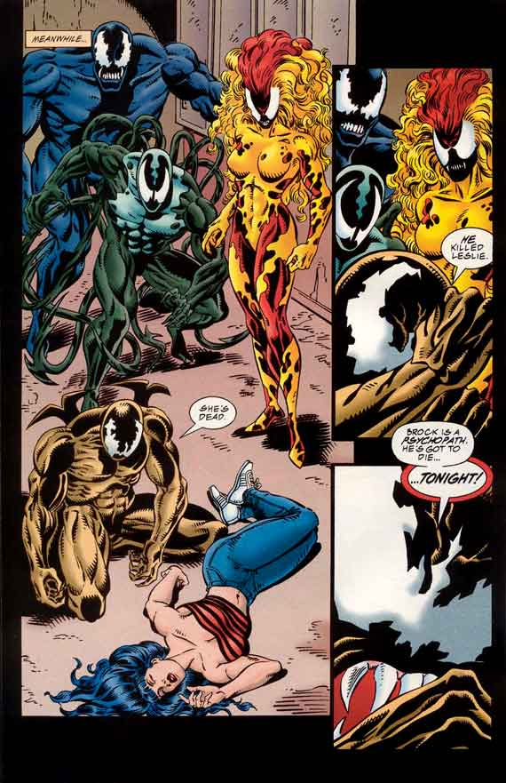 Comics Marvel Venom Separation Anxiety 3  Parting Is Such Sweet