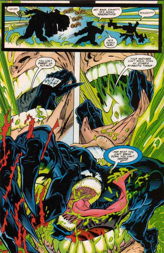 Comics Marvel Venom Tooth And Claw 1  Into The Jaws Of Death 11